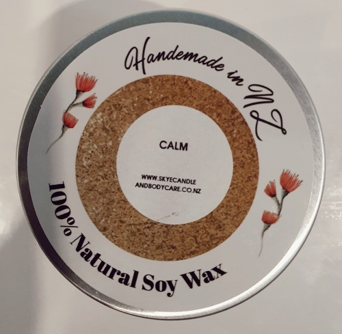 Calm Soy Travel Candle