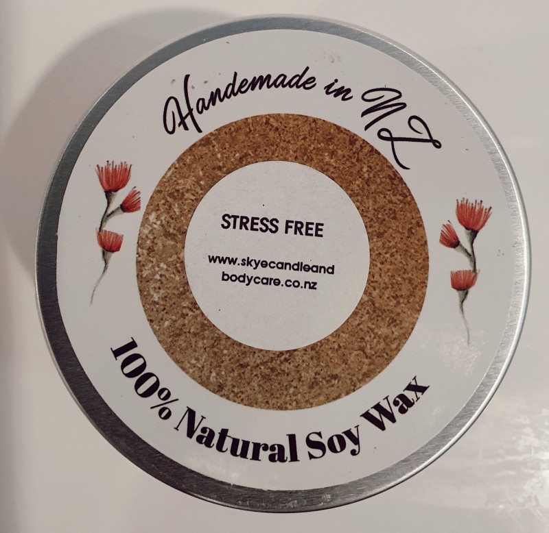 Stress-Free Soy Travel Candle