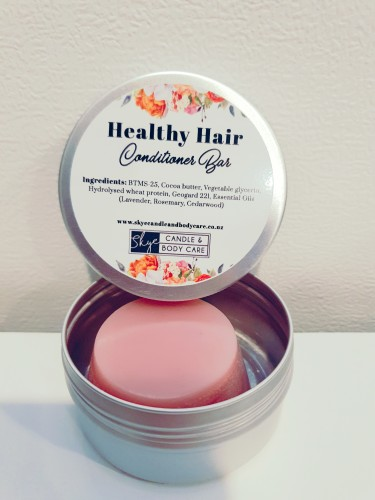 Conditioner Bar in a Tin