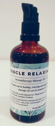 Muscle Relaxing and Pain Relief Massage and Body Oil