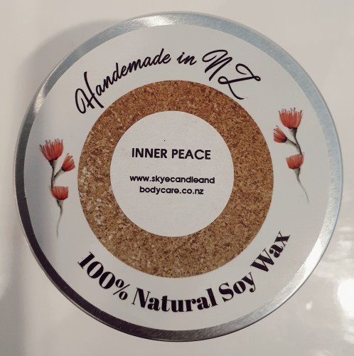 Inner Peace Soy Travel Candle