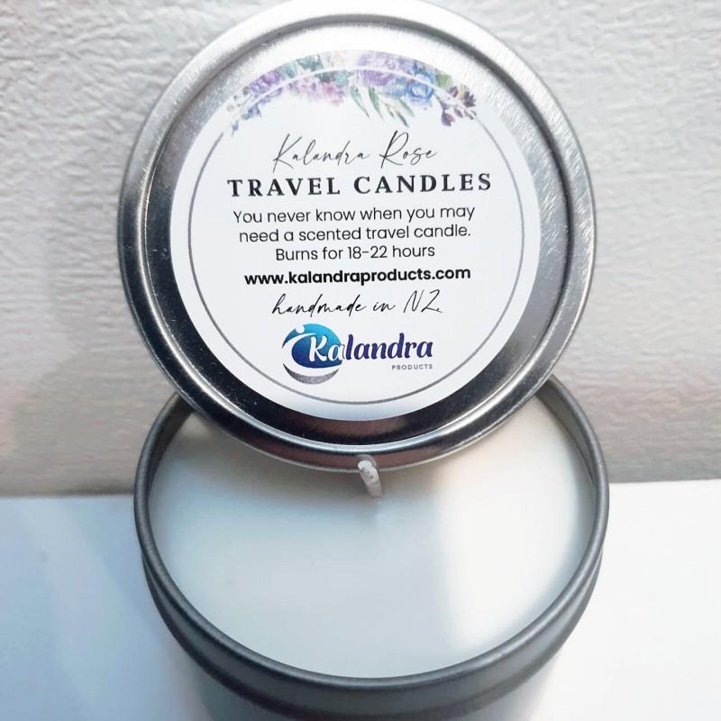Kalandra Rose Soy Travel Candle
